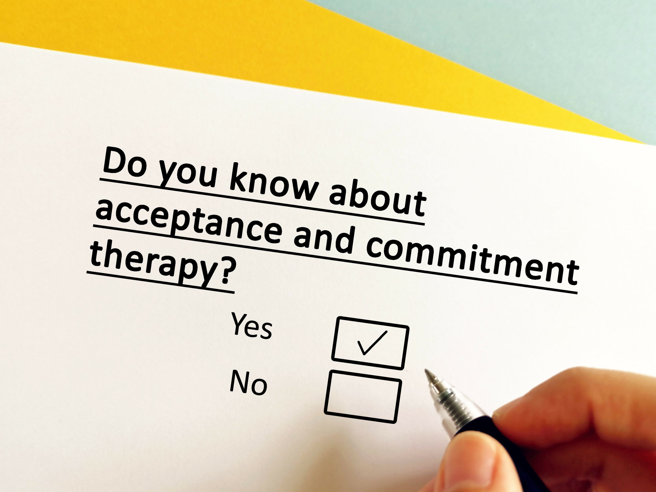 Acceptance and commitment therapy and PTSD